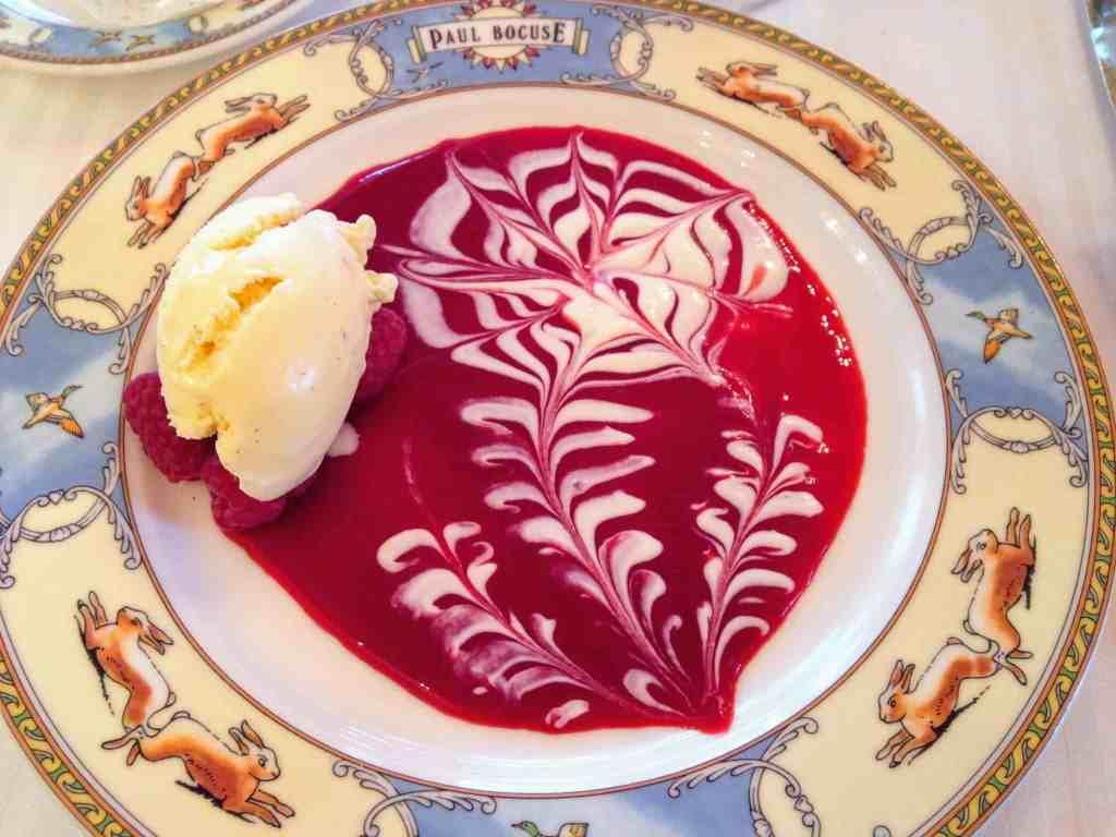 Dessert at Paul Bocuse