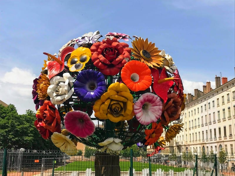 The Flower Tree Sculpture