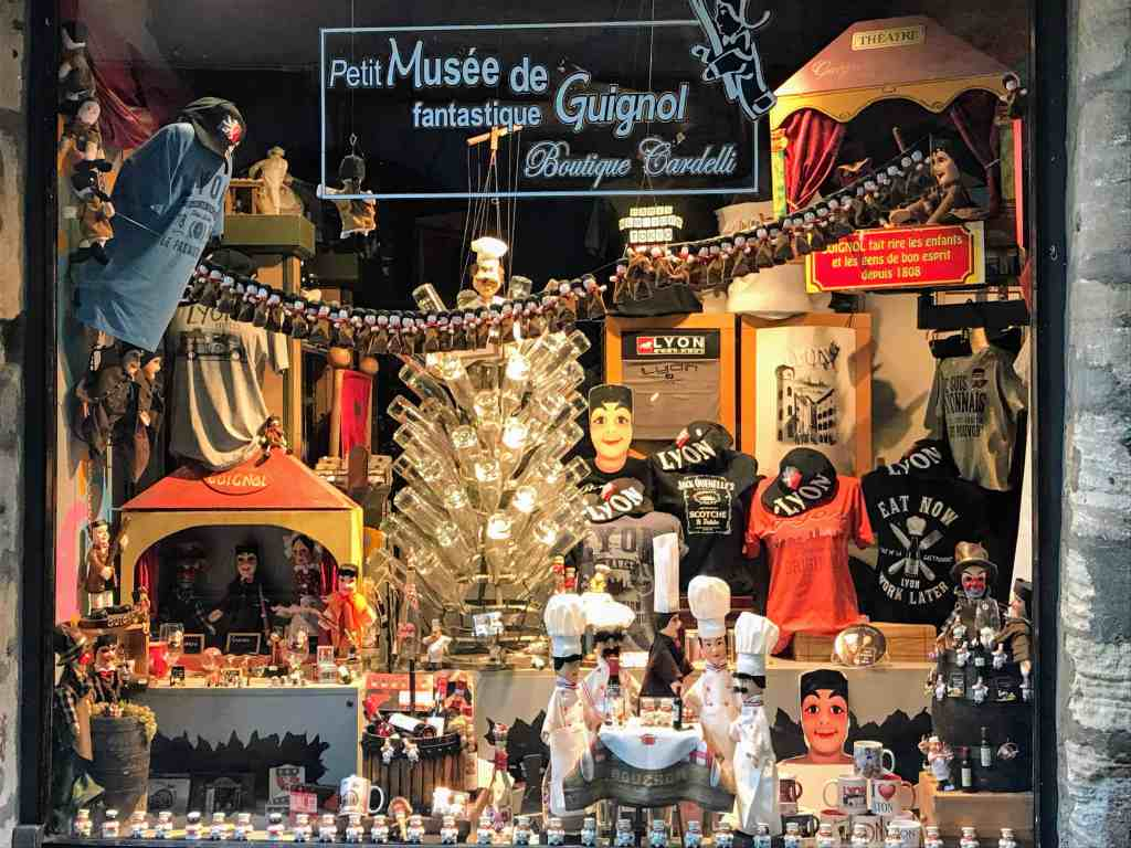 Puppet museum in Old Lyon
