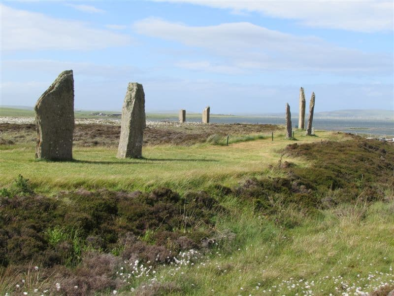 Ancient stones at the Ring of Brodgar