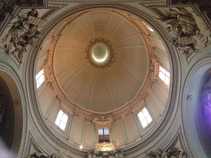 Dome inside Chiesa di Santa Maria della Vita in Bologna (Credit: Jerome Levine)