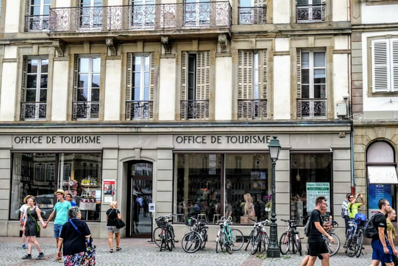 One Day in Strasbourg: Office of Tourism on Cathedral Square
