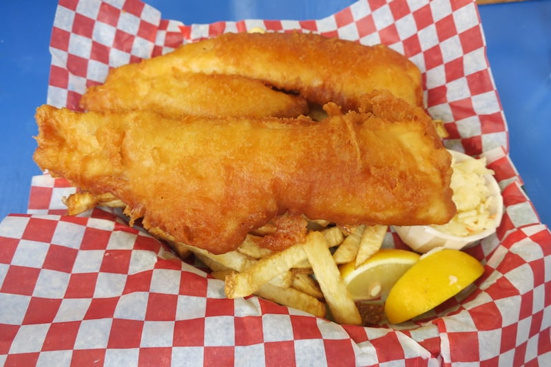 Food Island - Rick's Fish 'n Chips in St. Peter's Bay