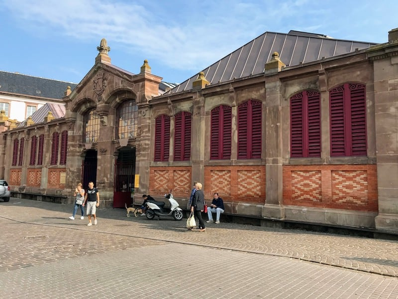 Best Day Trip from Strasbourg - The covered market in Colmar