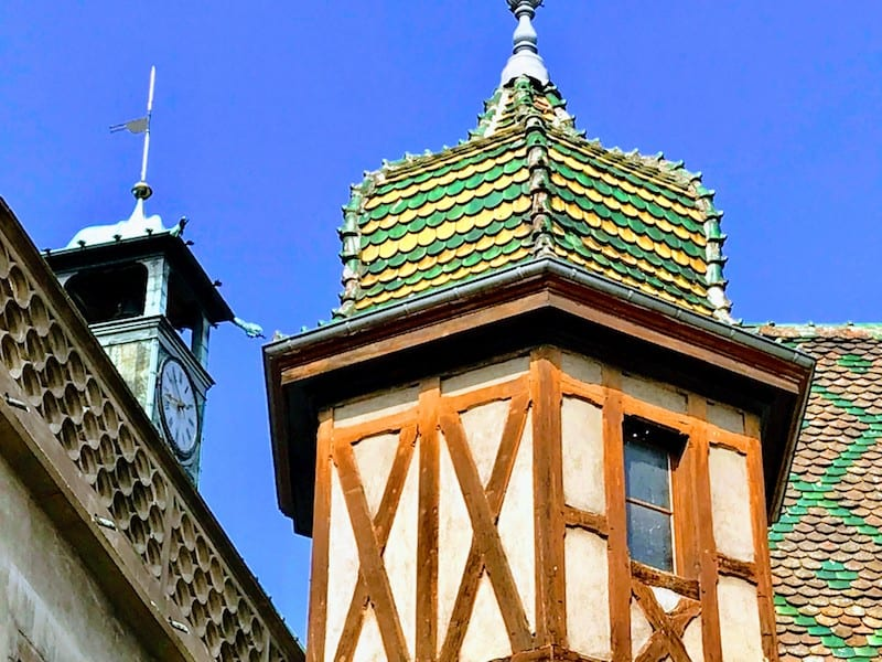 Best Day Trip from Strasbourg - Colorful tiled roof in Colmar