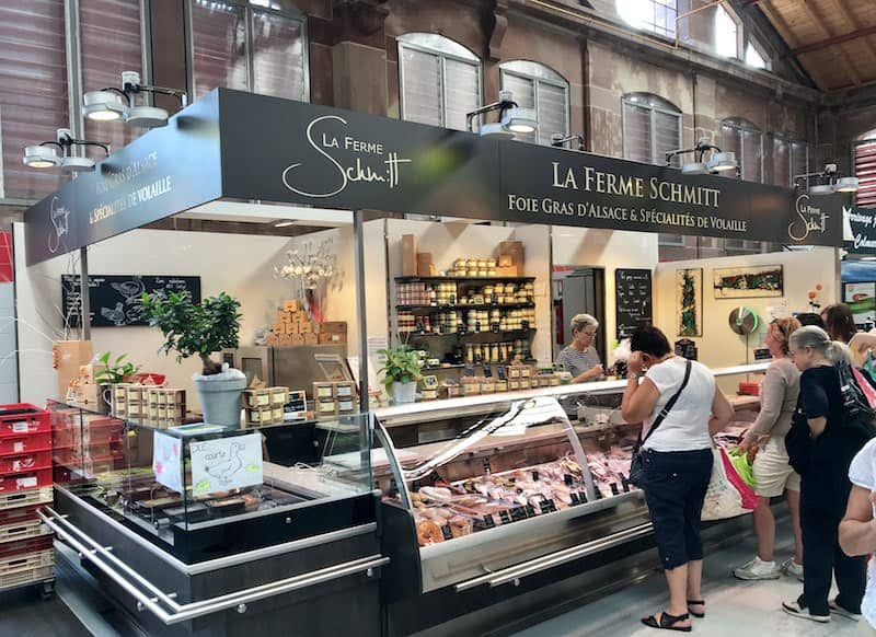 Best Day Trip from Strasbourg - Foie gras purveyor at the market in Colmar