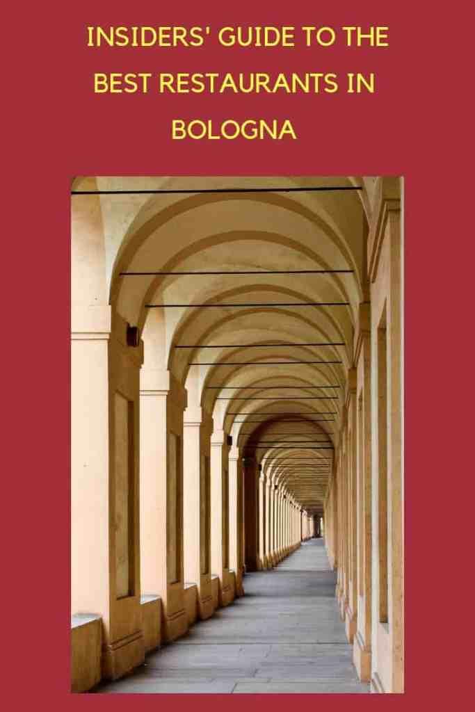 Best restaurants in Bologna