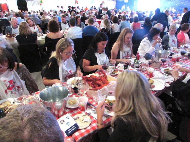 PEI Lobsters at Feast and Frolic