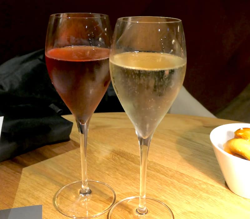 Cremant and Kir Cremant at Maison des Tanneurs in Strasbourg