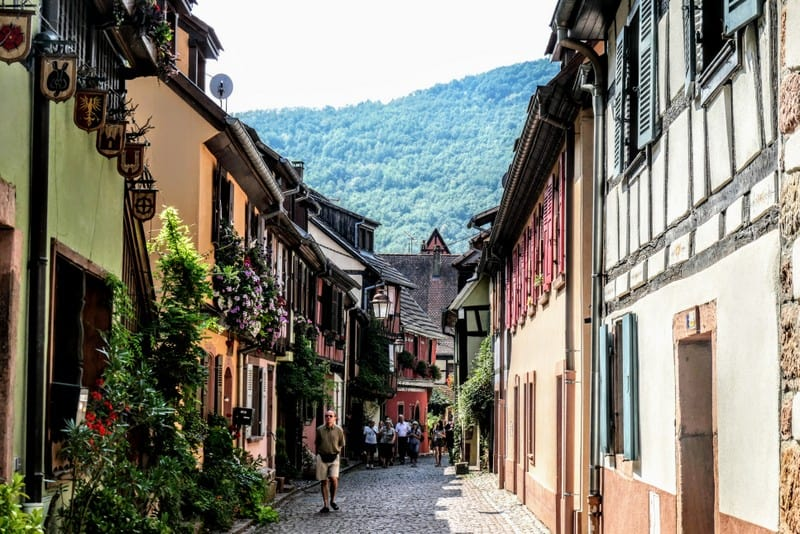 Best Day Trip from Strasbourg - Another charming street in Kayserberg