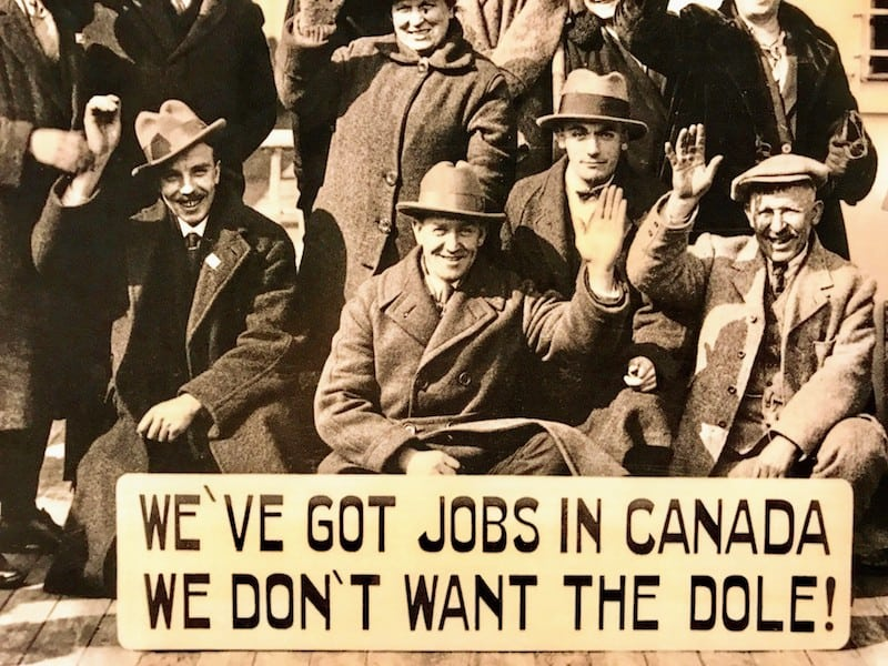 Canadian immigration was often spurred by the search for jobs