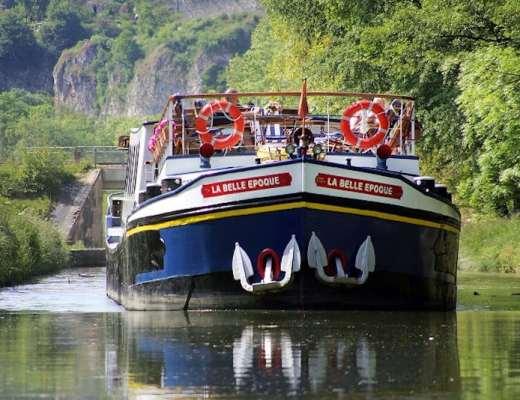 La Belle Epoque, one of the barges in the European Waterways fleet