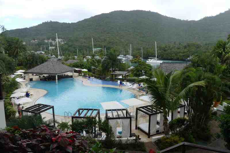 Marigot Bay Resort and Harbor in St. Lucia