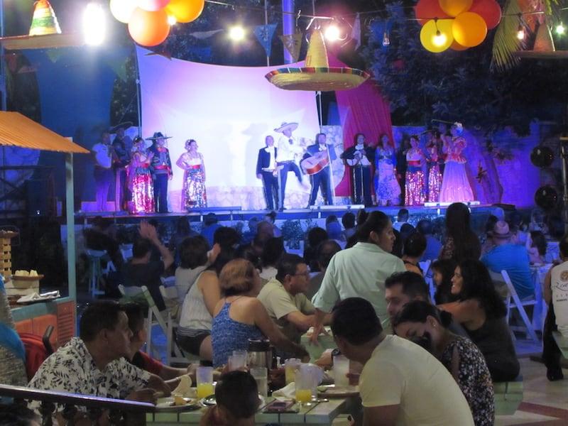 Entertainment at the Taco Festival at Panama Jack