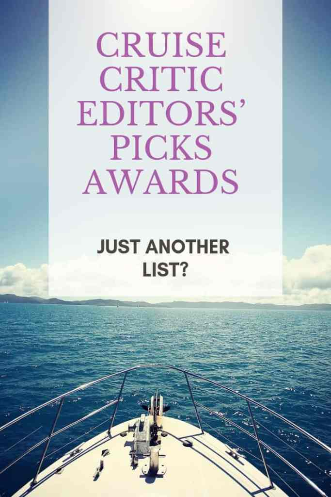 Cruise Critic Editors' Picks Awards