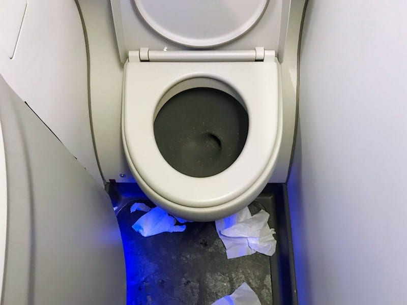 Is Delta Comfort Plus worthwhile on a domestic flight? Case in point: The disappointing lavatory