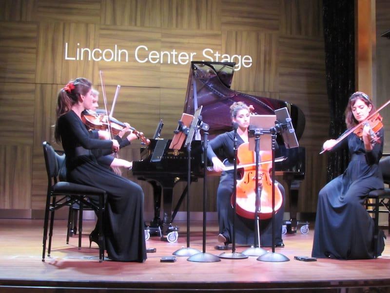 Piano with String Quartet