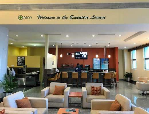 The Executive Lounge at Antigua Airport