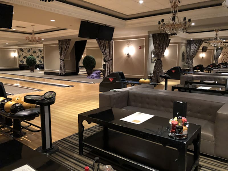Bowling Alley at Foxwoods (Credit: Nancy Monson)