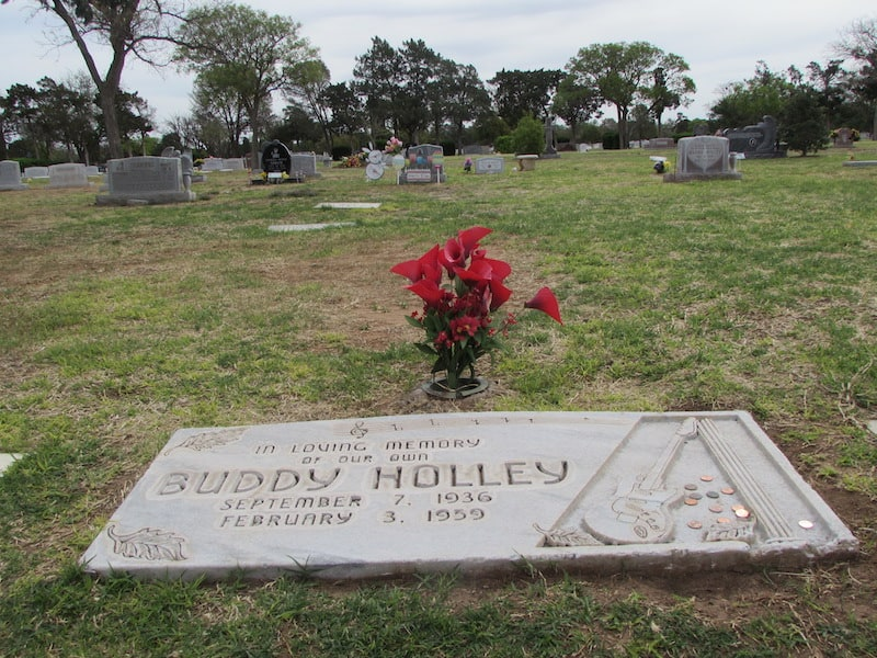 Buddy Holley Gravesite