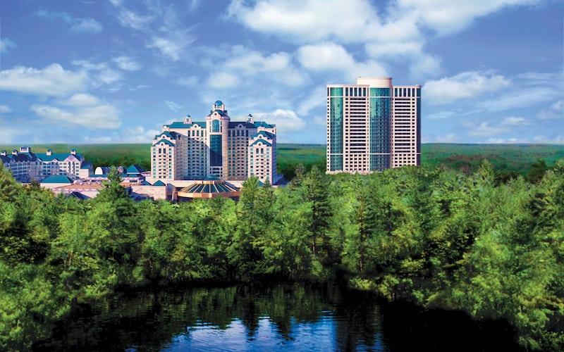 Exterior of Foxwoods (Credit: Foxwoods Resort Casino)