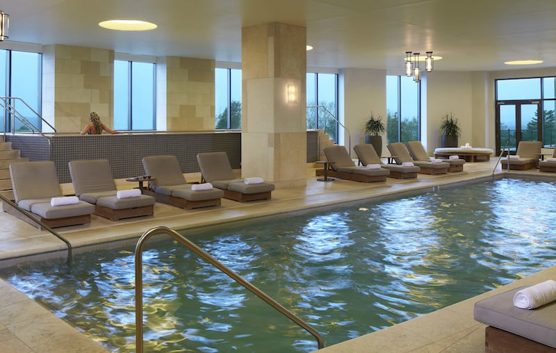 Pool at the G Spa at Foxwoods Resort Casino (Credit: Foxwoods)