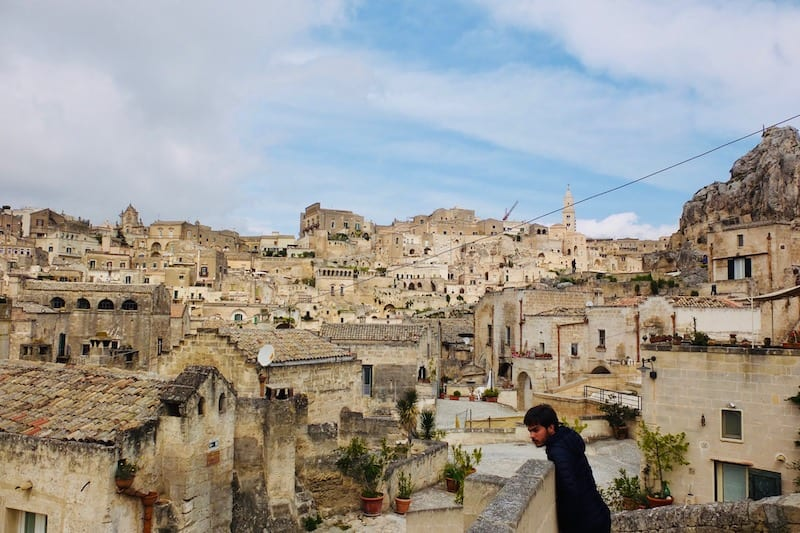 Another view of the houses of Matera