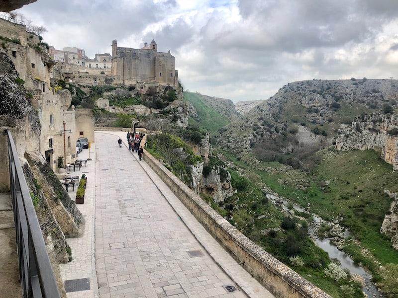 Matera and the Gravina Ravine