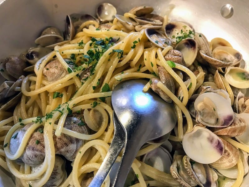 8 Italian Food Rules - Seafood pasta: Hold the cheese