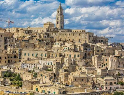 Matera: City of Stone (Pixabay)