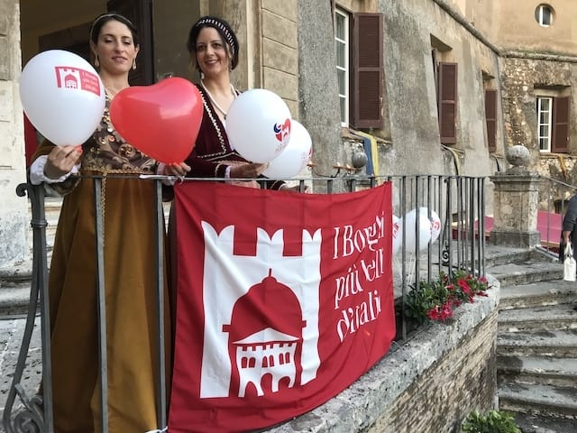 Celebrating small villages in Italy
