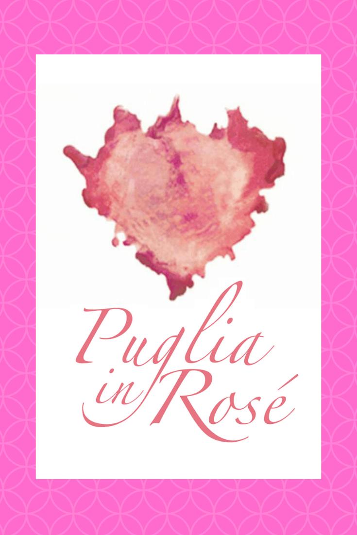 Pink wine of Puglia pin