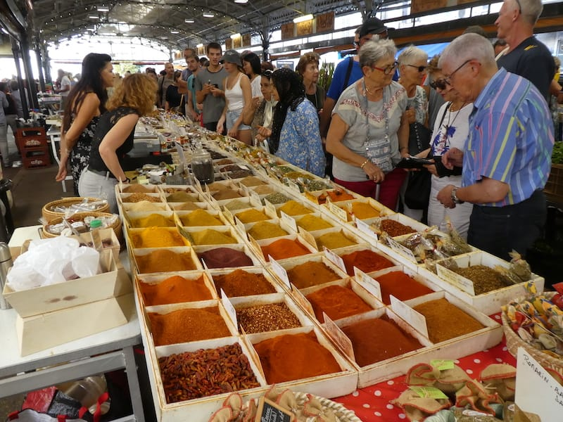 Spice market in Old Antibes