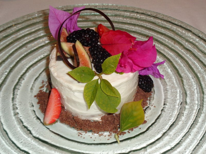 Desserts at Zoetry: Always imaginative