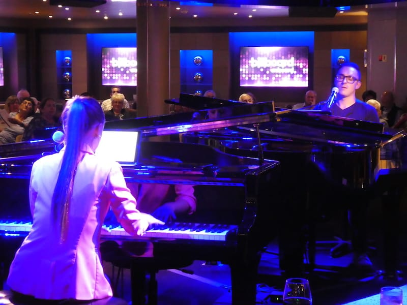 Eurodam's Dueling Pianos at Billboard Onboard