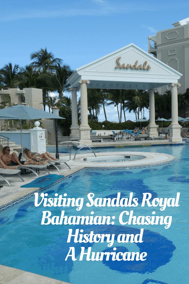 Sandals Royal Bahamian pin