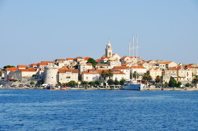 Croatia by boat