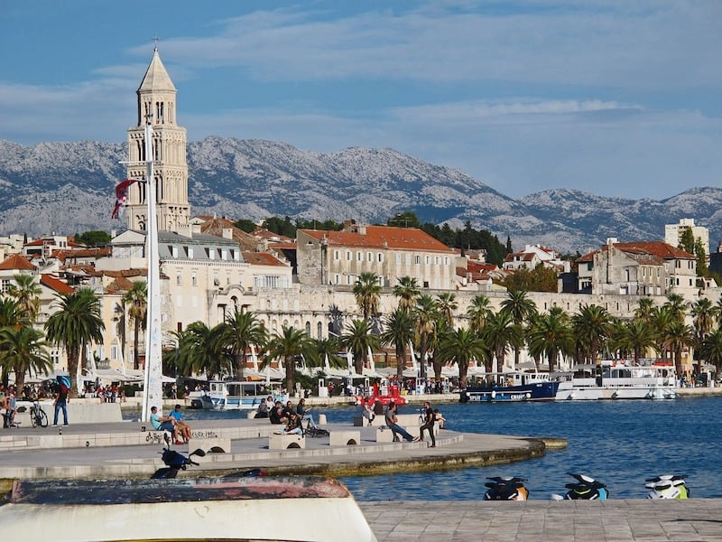 Waterfront in Split