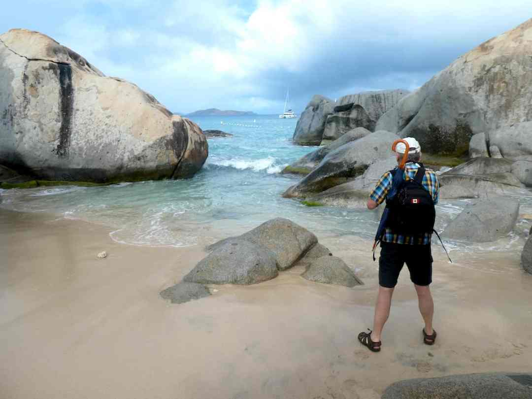 Land and Sea Adventure: The unusual rock formations at the Baths