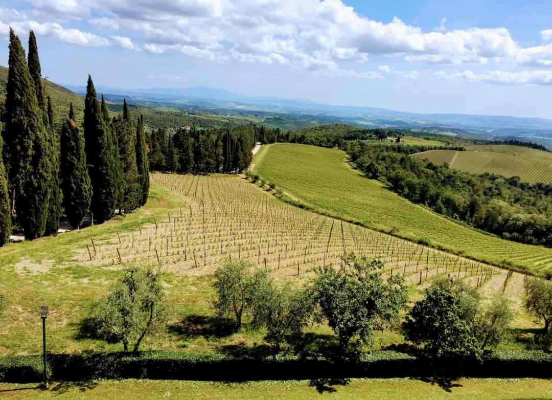 A Tuscan landscape (credit: Jerome Levine)