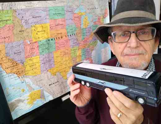 A boomer's journey by Greyhound Bus