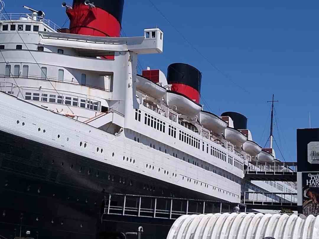 Visiting the Queen Mary