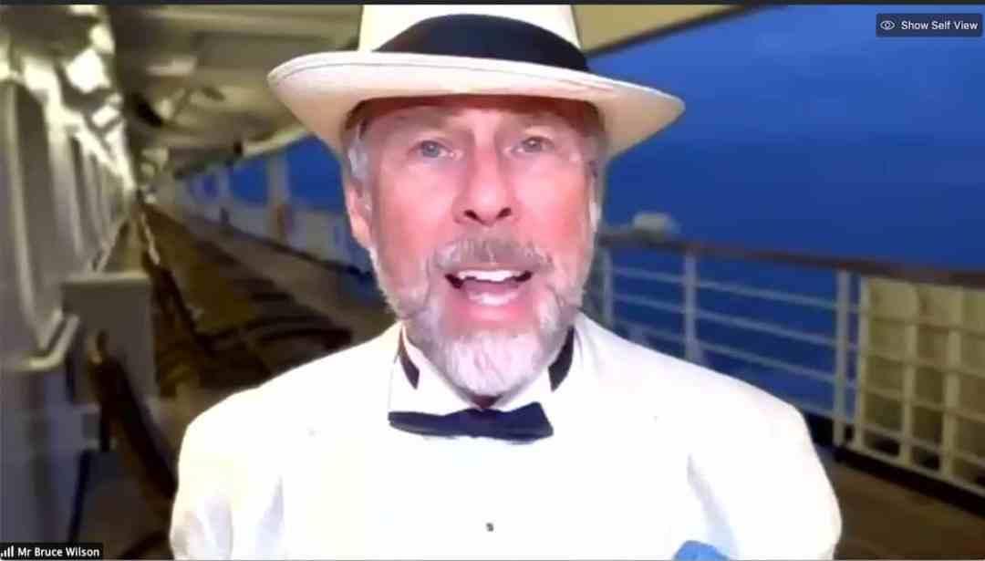 Virtual cruise passenger
