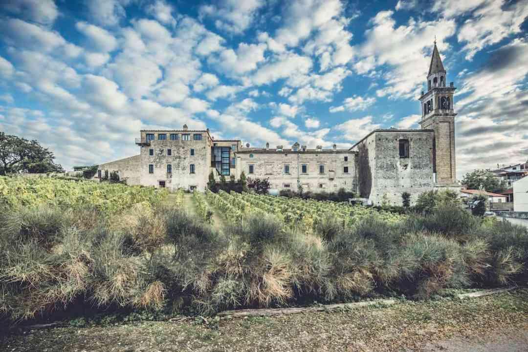 The magical Castello di Semivicoli at the Masciarelli Wintery