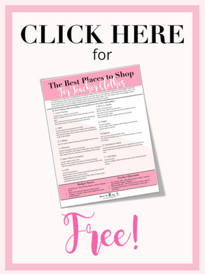 Free Places to Shop Teacher Clothes