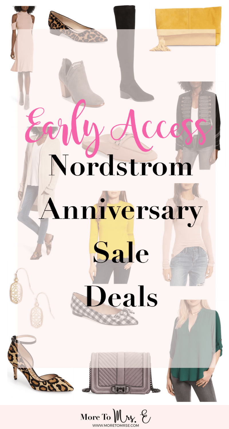Main Nordstrom Anniversary Sale Deals Favorites