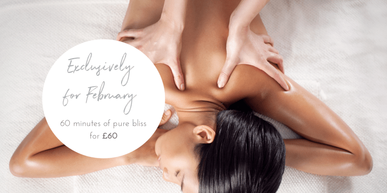 Exclusive February massage offer