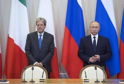 Russia, Gentiloni ha incontrato Putin a Sochi