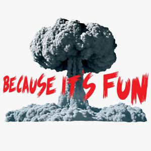 Image result for because it's fun t-shirt