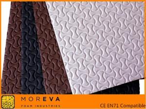 Embossed EVA foam sheet  Mor Eva Foam